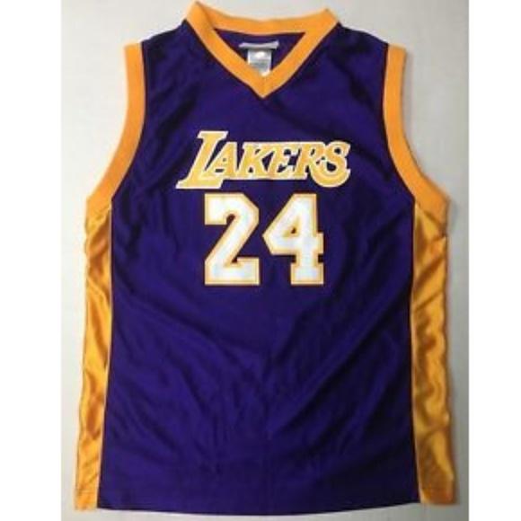 ba88cb1bd NBA Los Angeles Lakers Kobe Bryant  24 Jersey L. M 5aebc3aa5521bea140d90d60